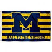Michigan Hail to the Victors Flag