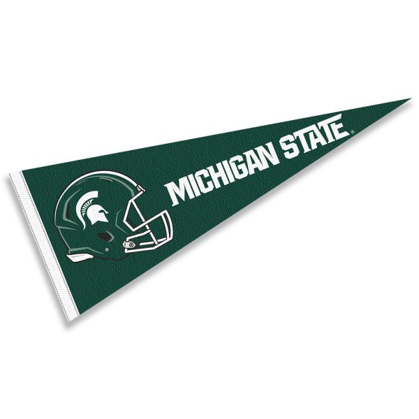 Michigan State Football Helmet Pennant