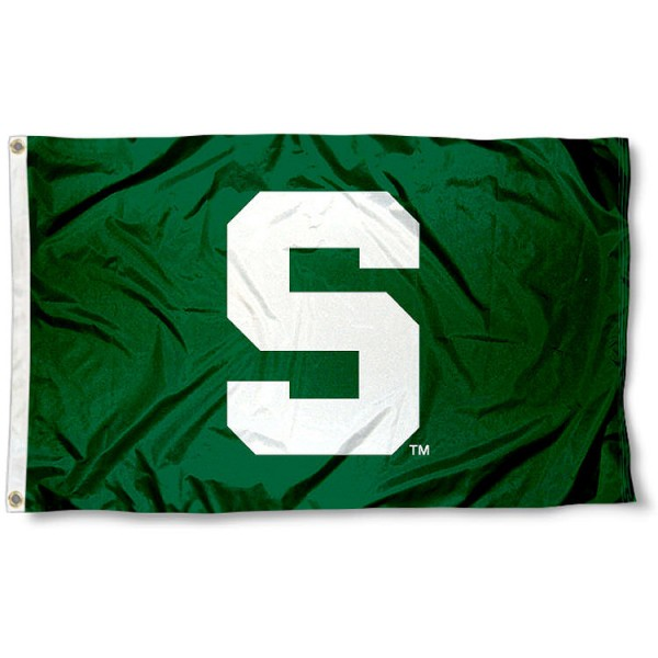 Michigan State Green Flag