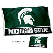 Michigan State MSU Spartans Two-Sided 3x5 Foot Flag