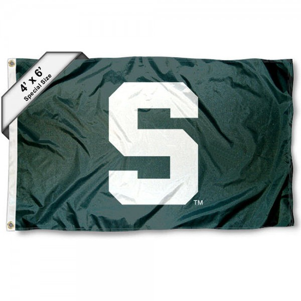 Michigan State Spartans 4' x 6' Flag
