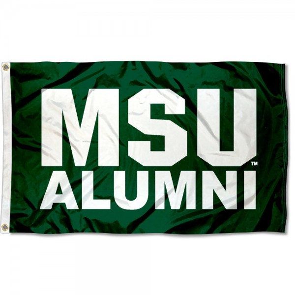 Michigan State Spartans Alum Flag