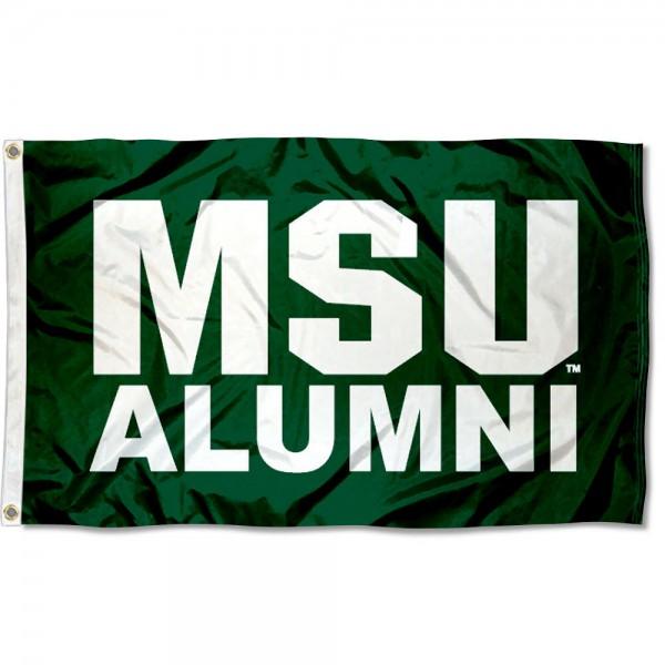 Michigan State Spartans Alum Flag