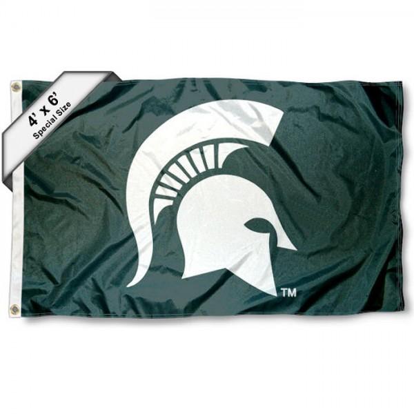 Michigan State Spartans MSU 4'x6' Flag
