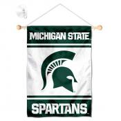 Michigan State Spartans Window Hanging Banner with Suction Cup