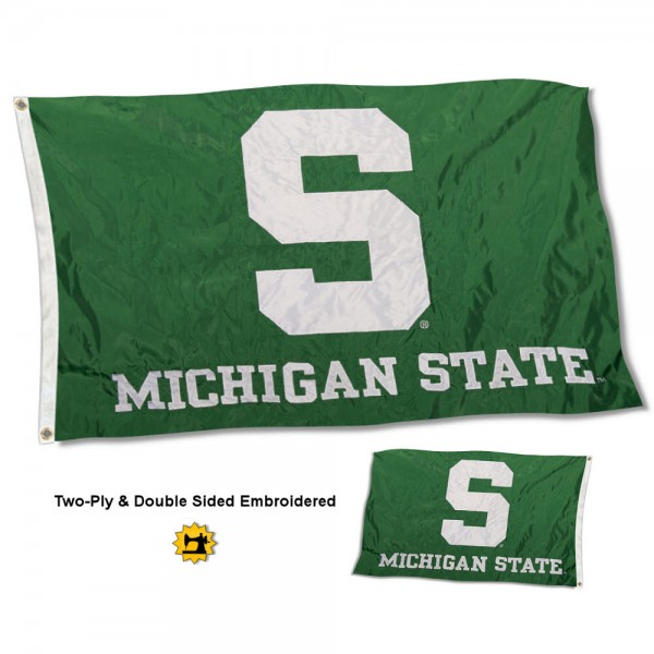 Michigan State University Flag - Stadium