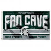 Michigan State University Spartans Man Cave Dorm Room 3x5 Banner Flag