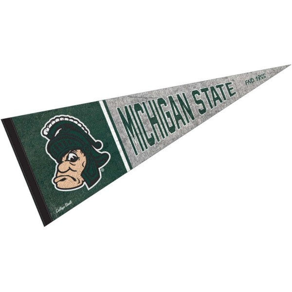 Michigan State University Spartans Pennant