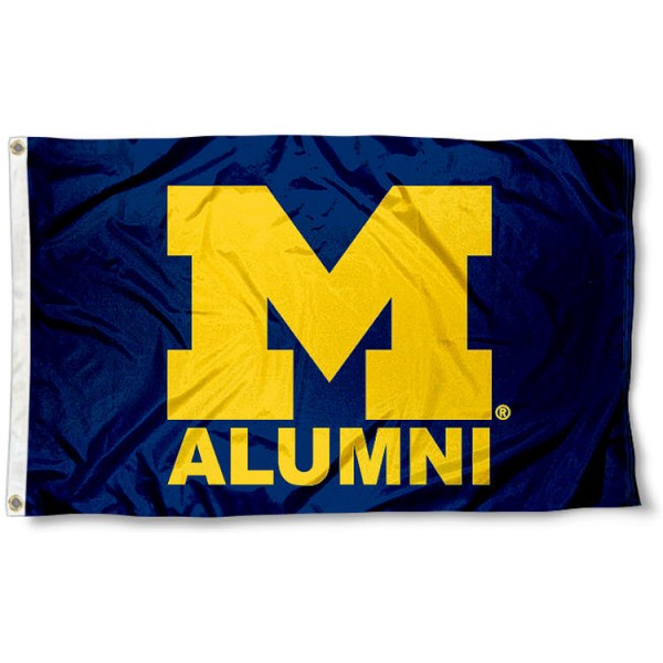Michigan Wolverines Alum Flag