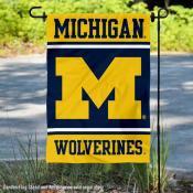 Michigan Wolverines Garden Flag