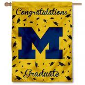 Michigan Wolverines Graduation Banner