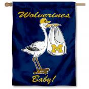 Michigan Wolverines New Baby Banner