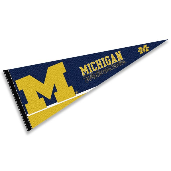 Michigan Wolverines Pennant