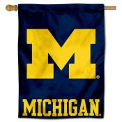 Michigan Wolverines Polyester House Flag