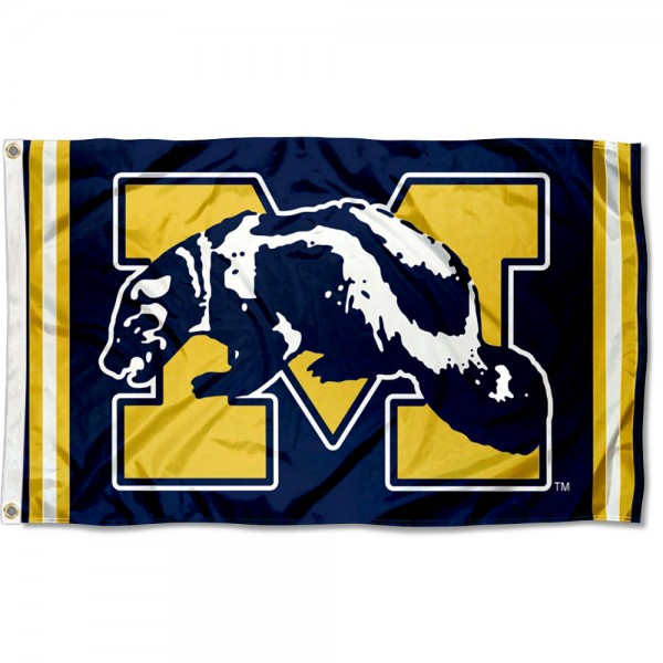 Michigan Wolverines Retro Vintage 3x5 Feet Banner Flag