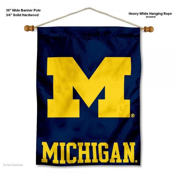 Michigan Wolverines Wall Hanging