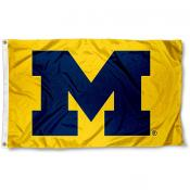 Michigan Wolverines Yellow 3x5 Flag