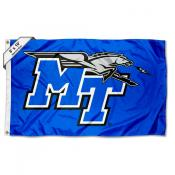 Middle Tennessee Blue Raiders Large 6x10 Flag