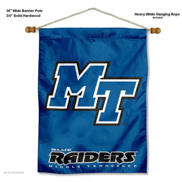 Middle Tennessee Blue Raiders Wall Hanging