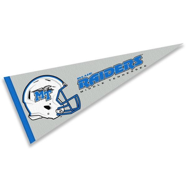 Middle Tennessee University Football Helmet Pennant