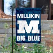 Millikin Big Blue Garden Flag