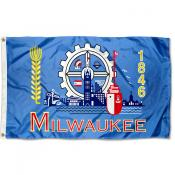 Milwaukee City 3x5 Foot Flag