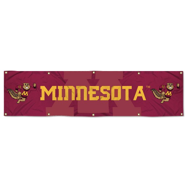 Minnesota Gophers 2x8 Banner