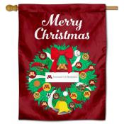 Minnesota Gophers Christmas Holiday House Flag