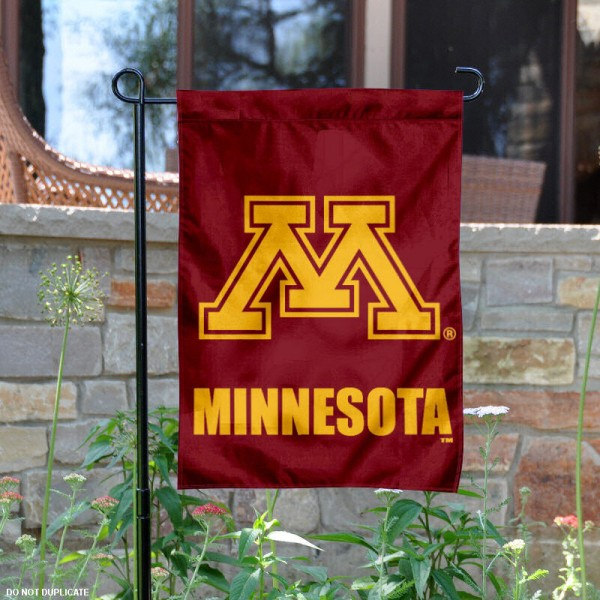 Minnesota Gophers Garden Flag