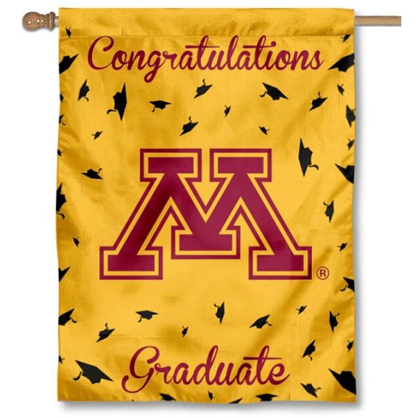 Minnesota Gophers Graduation Banner