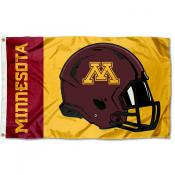 Minnesota Gophers Helmet Flag