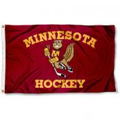 Minnesota Gophers Hockey Flag