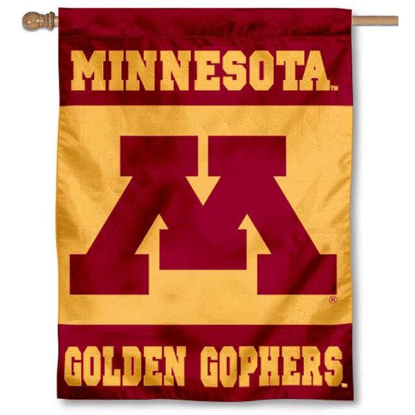 Minnesota Gophers House Flag