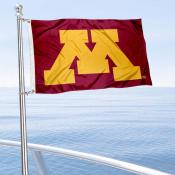 Minnesota Gophers Logo Nautical and Golf Cart Flag