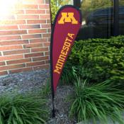 Minnesota Gophers Mini Teardrop Garden Flag