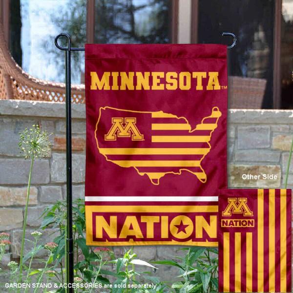 Minnesota Gophers Nation Garden Flag