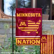 Minnesota Gophers Nation Garden Flag