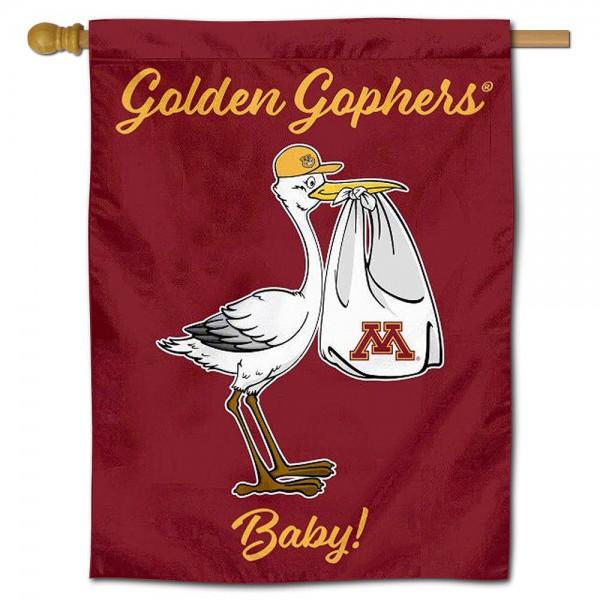Minnesota Gophers New Baby Banner