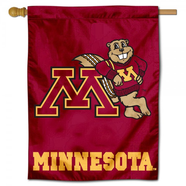 Minnesota Gophers Polyester House Flag