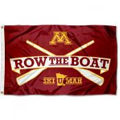 Minnesota Gophers Row The Boat Ski U Mah Flag