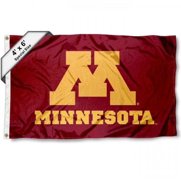 Minnesota Gophers UM 4'x6' Flag