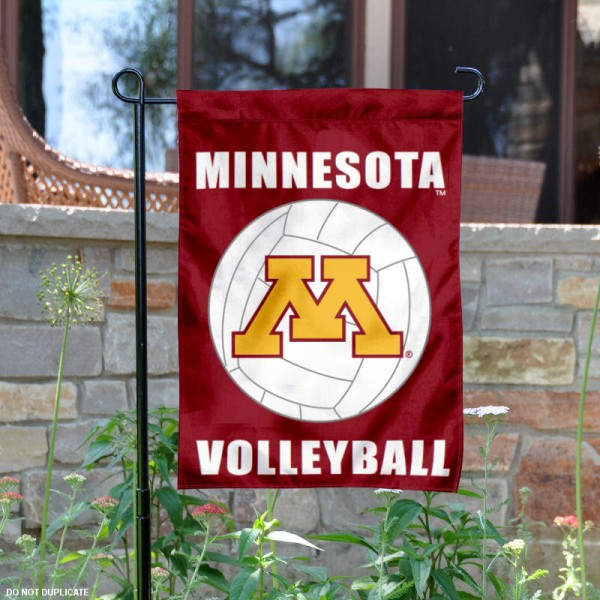 Minnesota Gophers Volleyball Garden Flag