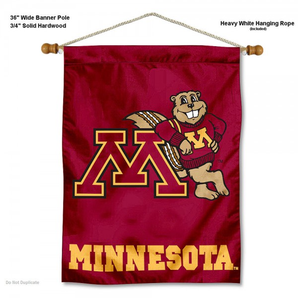 Minnesota Gophers Wall Hanging