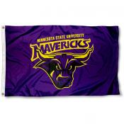 Minnesota State Mavericks Flag