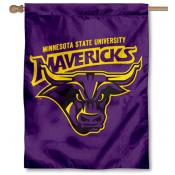 Minnesota State Mavericks House Flag