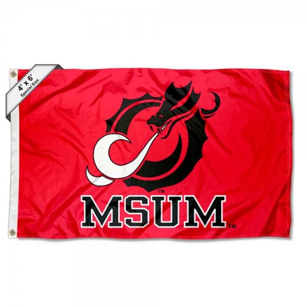 Minnesota State Mavericks Logo 4'x6' Flag