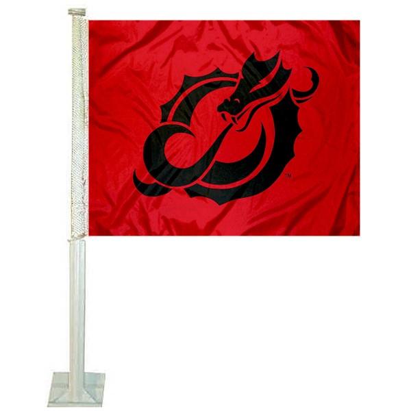Minnesota State Moorehead Dragons Car Flag