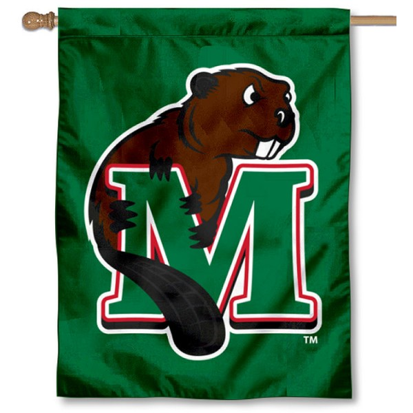 Minot State University Logo House Flag
