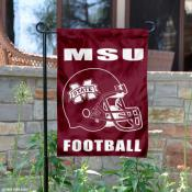 Miss State Bulldogs Football Garden Flag