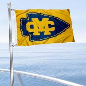 Mississippi College Choctaws Boat Nautical Flag
